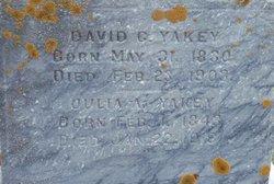 David C. Yakey