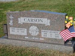 Harold Maxwell Carson, Jr