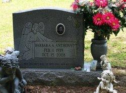 Barbara A Bob <i>Ivy</i> Anthony
