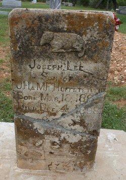 Joseph Lee Huffstetler