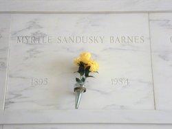 Myrtle R. <i>Sandusky</i> Barnes