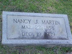 Nancy Josephine <i>Jones</i> Martin