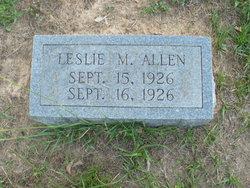Leslie M Allen