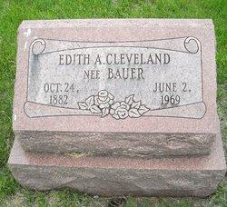 Edith A. <i>Bauer</i> Cleveland