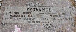 Margaret L Provance