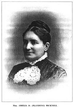 Amelia D <i>Blanding</i> Bicknell
