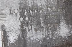 Louanna Lou <i>Dean</i> Cavette