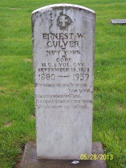 Ernest Walter Culver