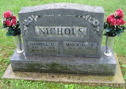 Marjorie Ruth <i>Evans</i> Nichols