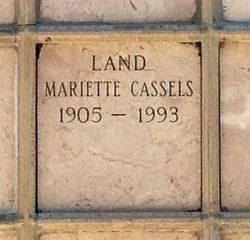 Mariette <i>Cassels</i> Land