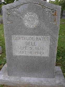 Gertrude <i>Bates</i> Bell