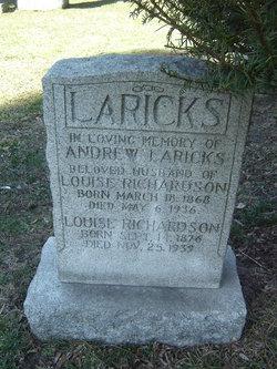 Louise <i>Richardson</i> Laricks