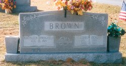 Cebron Deal Brown
