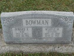 Howard R Ray Bowman