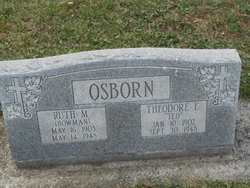 Ruth Mildred <i>Bowman</i> Osborn