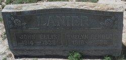 Evelyn <i>Benold</i> Lanier