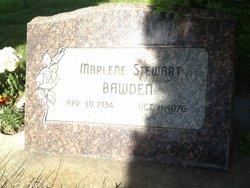 Marlene <i>Stewart</i> Bawden