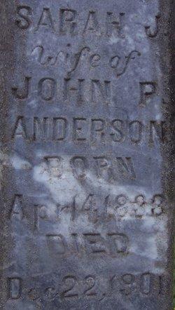Sarah Jane <i>Havens</i> Anderson
