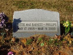 Lottie Mae <i>Dawkins</i> Barnett Phillips
