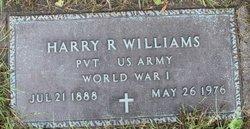 Harry R Williams