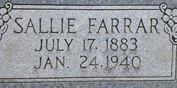 Sallie Farrar