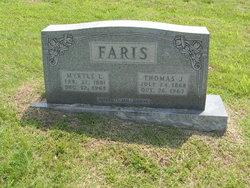 Myrtle Lorella <i>Jean</i> Faris