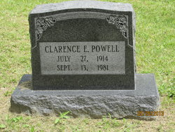 Clarence E Powell