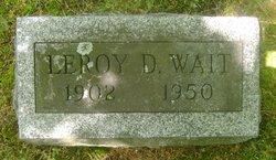 Leroy D. Wait