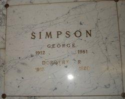 Dorothy Rose Simpson