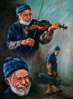 Clifford Elston Violin Man Johnson
