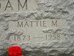 Mattie M. Adam
