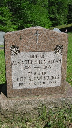 Alma <i>Thurston</i> Aloan