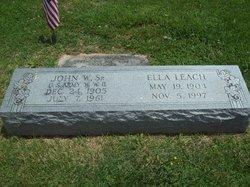 Ella <i>Leach</i> Davis