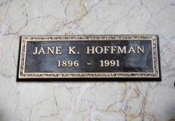 Jane K <i>Kendall</i> Hoffman
