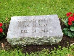 Edward W Backus