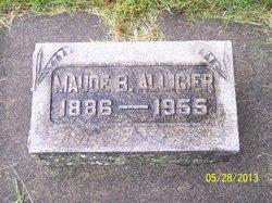 Maude B Alligier