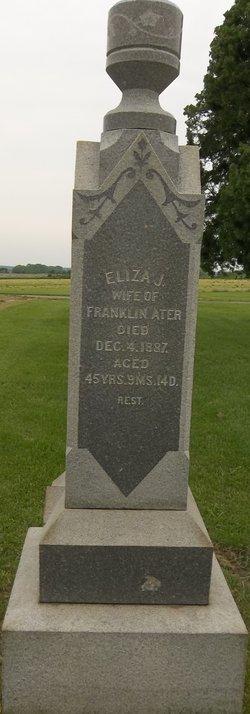 Eliza J <i>McArty</i> Ater