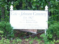 Cole-Johnson Cemetery