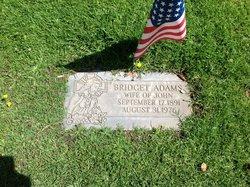 Bridgett Agnes <i>Flynn</i> Adams