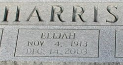 Elijah Huston Harris