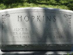 Coleman Pendeman C P Hopkins