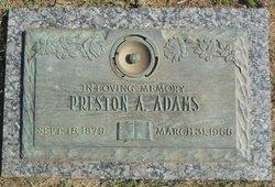 Preston Alexander Adams