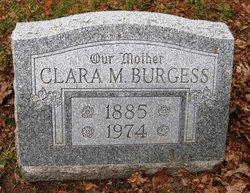Clara Marie <i>Wickman</i> Burgess
