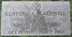 Clifford Earl Blackwell