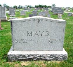 Martha J <i>Ellis</i> Mays