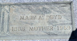 Mary Alice <i>Bridges</i> Boyd