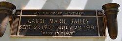 Carol Marie Bailey