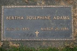 Bertha Josephine Adams