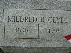 Mildred R Clyde