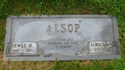 Alma Mae <i>Adams</i> Alsop